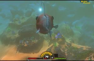 海底大猎杀-70级灯笼鱼伤害竟然这么高,最后还是被倾齿龙给秒了