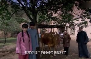 婆婆不想让儿子娶盗墓贼的女儿,不料人家牵来一头牛,直接答应