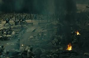 高地争夺站,我军战士不畏牺牲,激战场面壮阔