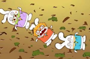 阿U:阿美完美打败怪物,竟是三只兔子假扮,这兔子厉害了