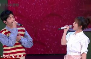 杨紫在央视台又唱《小梦想大梦想》,这次搭档井柏然小哥哥!