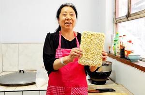 家庭自制米老头,酥脆可口,浓浓的爆米花味道,做法超简单