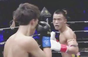 河南名将欲横扫日本小级别拳手,王俊光铁拳硬怼追着打大胜日拳王
