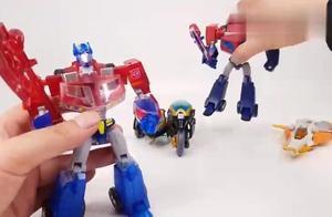变形金刚擎天柱和他的朋友们汽车机器人玩具