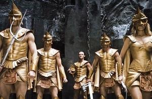 惊天战神:特效画面完美的科幻电影,希腊众神出场犹如黄金圣斗士