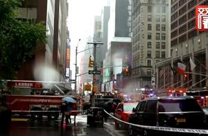 """直升机在纽约一大厦楼顶坠毁 目击者:我立马联想到""""911""""!"""