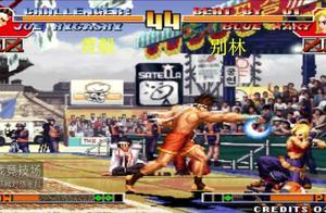 拳皇97:玛丽粘人的柔术暴揍东丈,抱抓接升龙BUG夹伤害真高