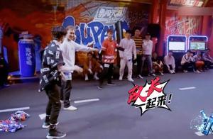 这就是街舞2:选手即兴表演,妥妥的实力派,随时点燃全场