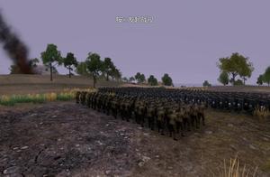 史诗战争模拟器:1000长矛盾牌兵挑战100手持步枪士兵,谁能赢