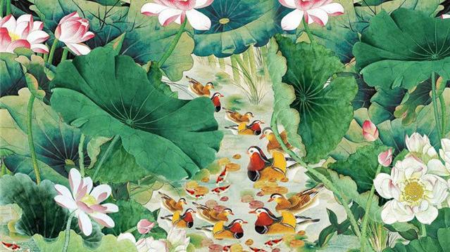 关于春天的花的诗句
