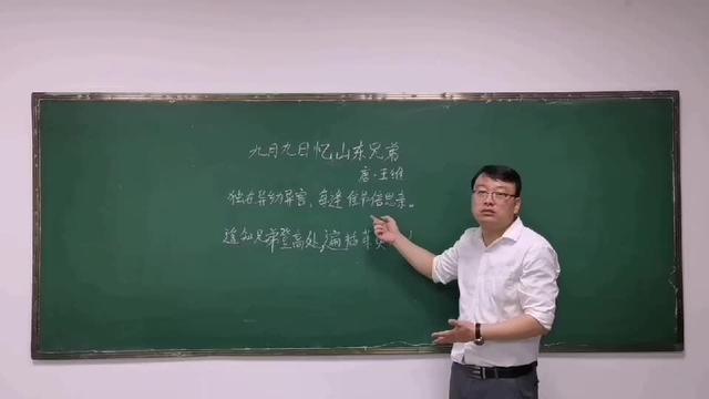 九月九日忆山东兄弟这首诗的名句是什么?