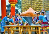 2015开化十月民俗旅游节日 侗族的春节习俗