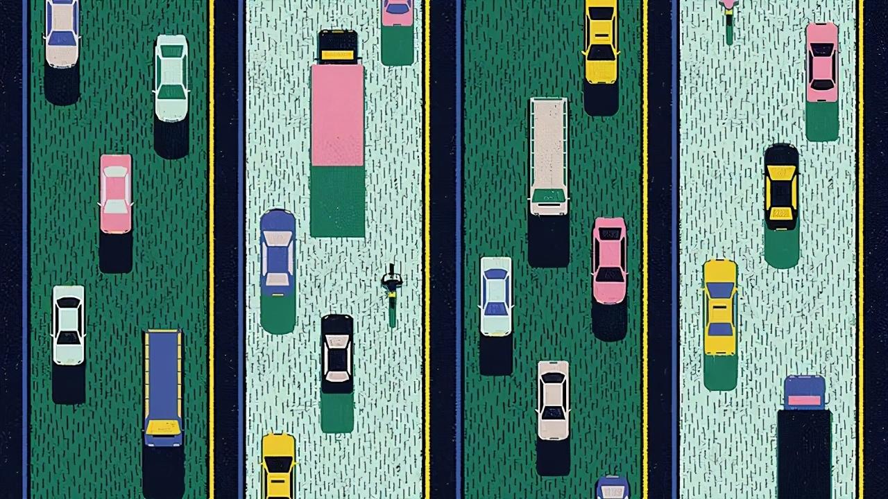 """自动驾驶车面对的道德困境:""""出事了,撞谁?"""""""