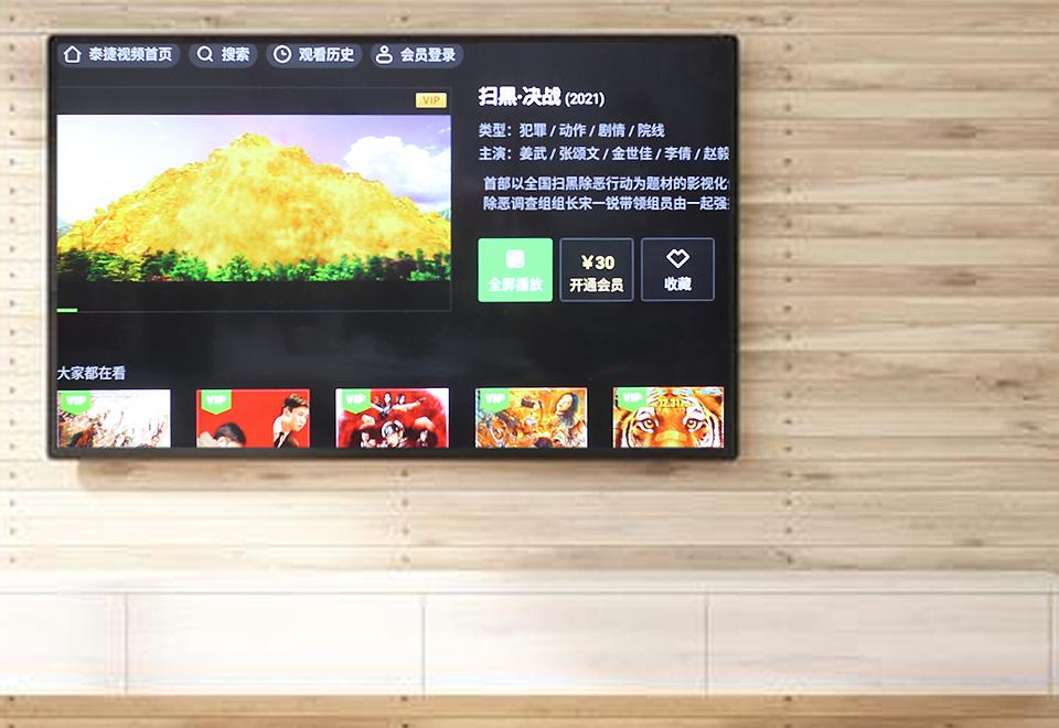 干净清爽无广告,泰捷WE60C升级版电视盒体验