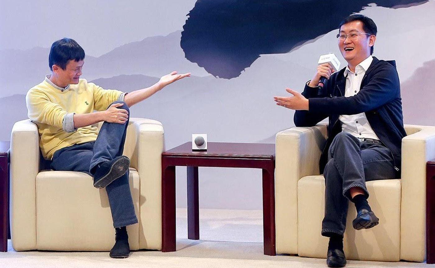 """完全乱套了!马云和马化腾或将协作,马云要""""让步了""""?"""