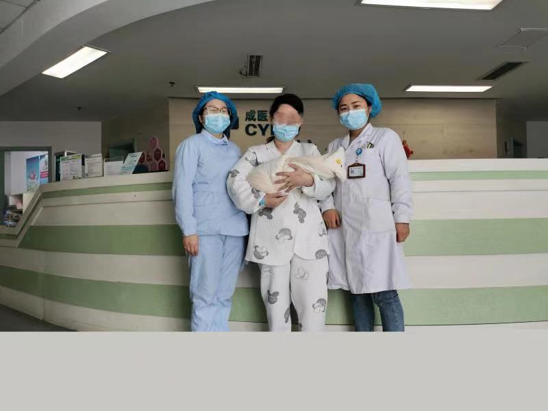 106个日日夜夜!千亿体育登录产科医护全程守护 甲亢性心脏病孕妇顺利产女