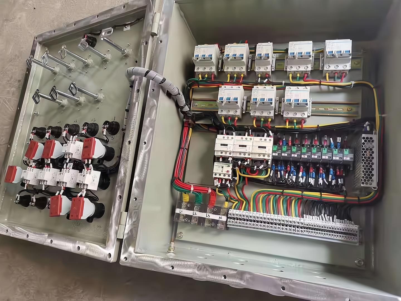 防爆节制箱分电箱做频频接地的感化及注重事变