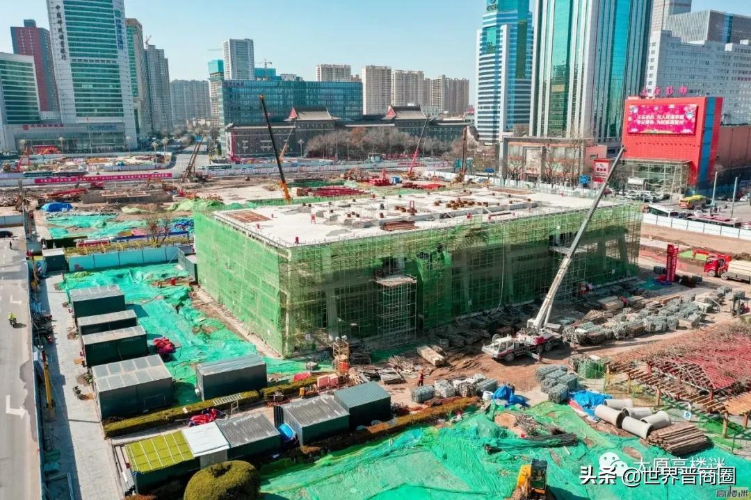 太原晋阳里商业街5月正式对外开放|五一广场改造国庆节前完工