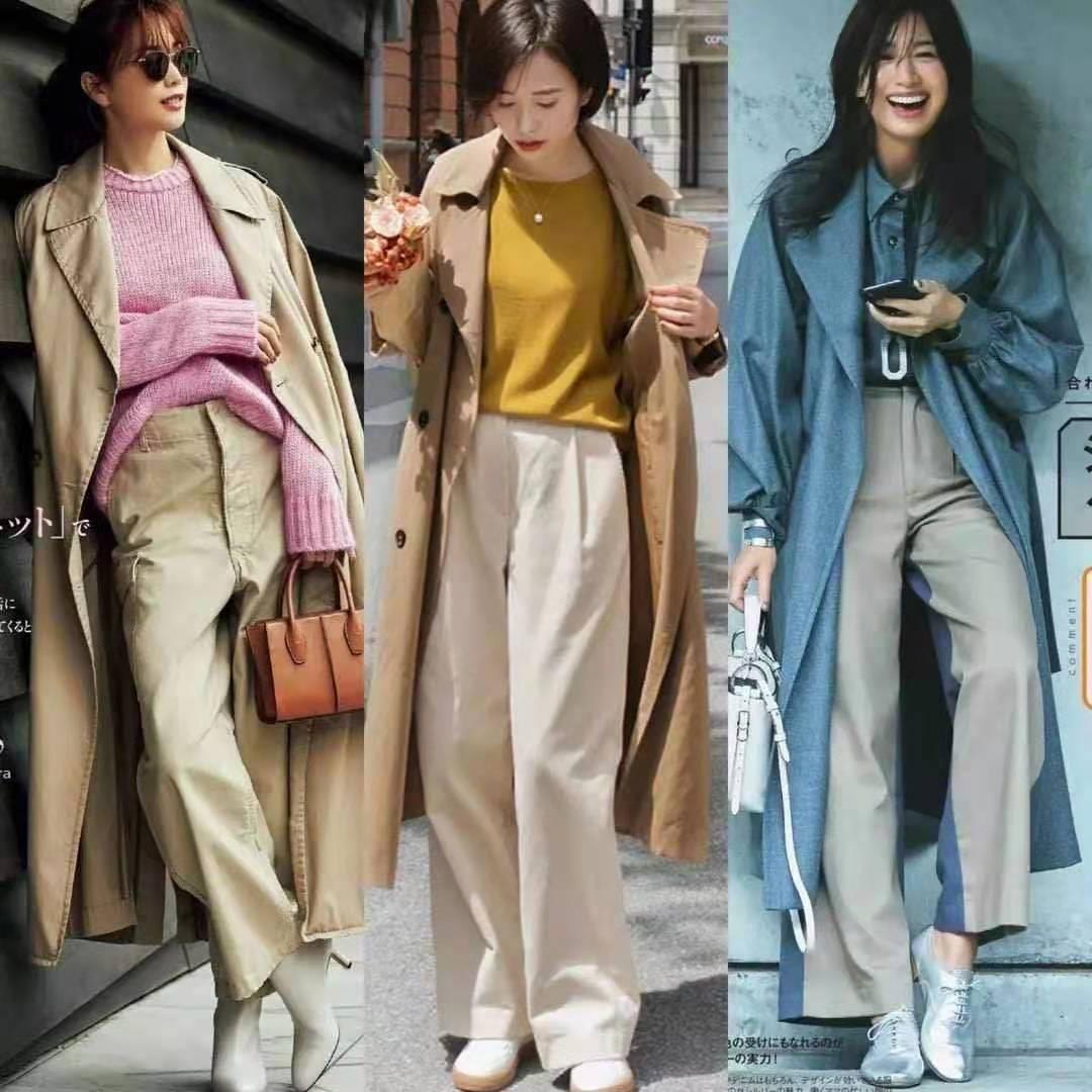 穿大衣时,如何配色?日系风中的配色大全,信手拈来的时髦与优雅