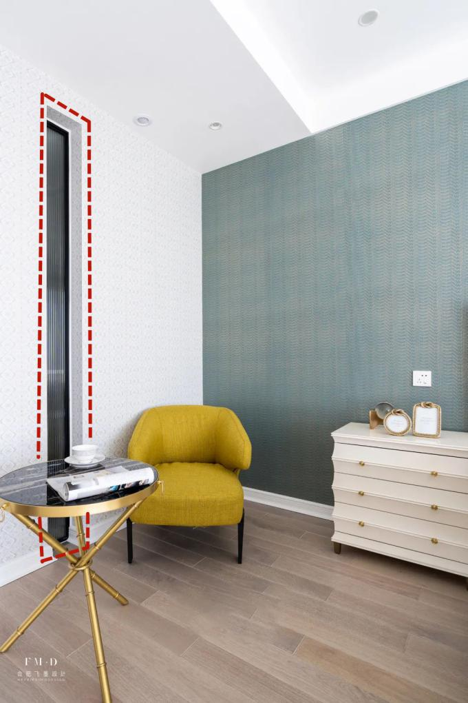 主卧带卫生间,是个暗卫我不头疼,墙上开一条缝嵌入玻璃引光进来