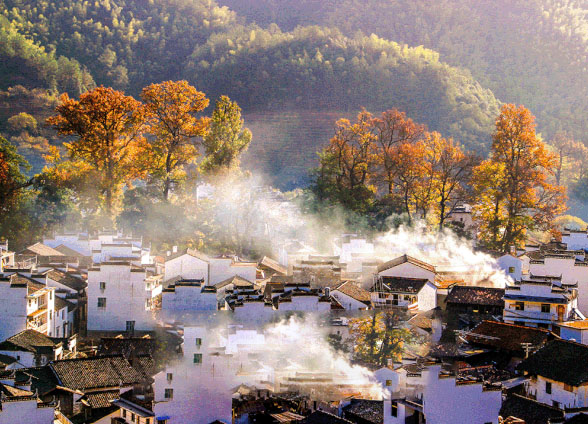 秋天必去的8个古村落,你最喜欢哪一个?8天小长假可考虑一游
