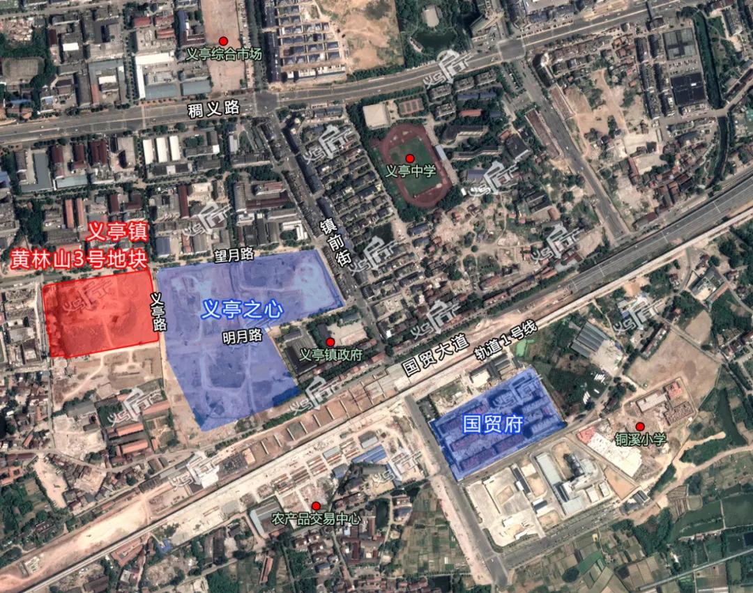 起始总价近32亿,面积205.6亩!义乌再次集中挂牌三宗涉宅用地