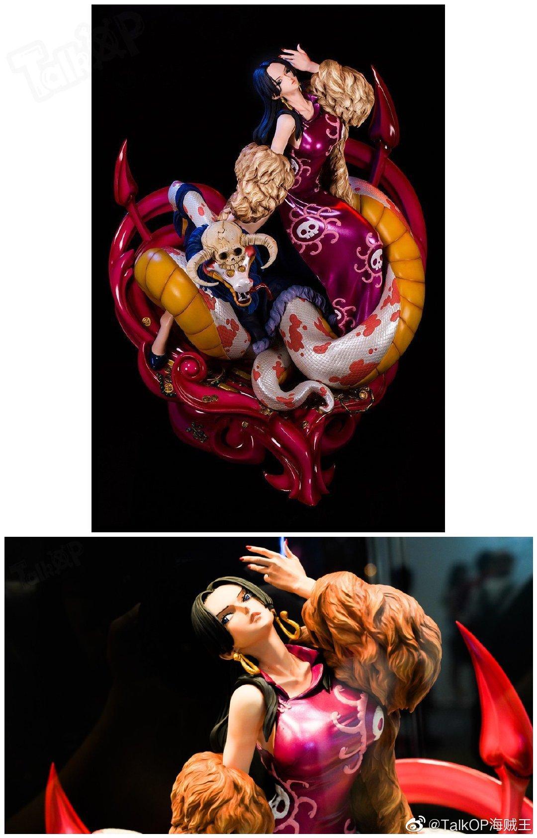 女帝博雅·汉库克大型雕像周边大量高清图集中公布!