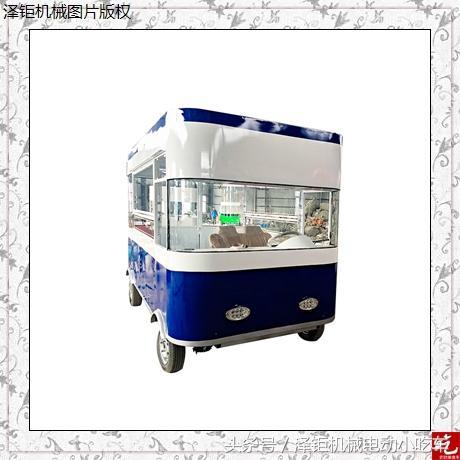 流动早餐车——安全又卫生