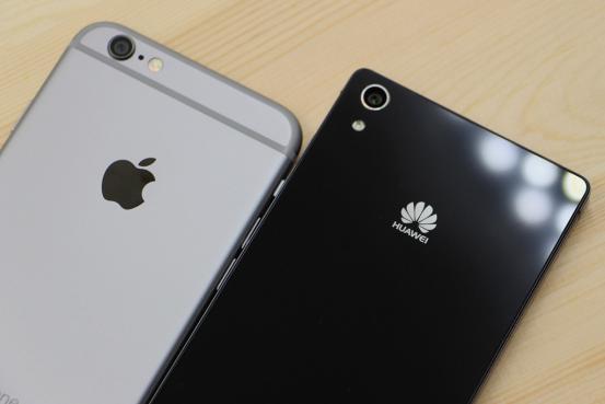 华为P7霹雳PK娇娃水果iPhone6