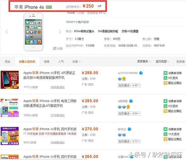 iphone最升值?四年iPhone这2款手机上已减价10倍