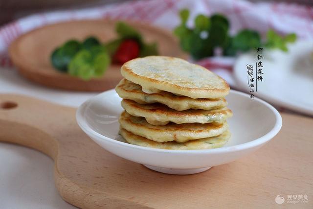 虾仁饼的做法,虾仁饼怎么做好吃,虾仁饼的家常做法