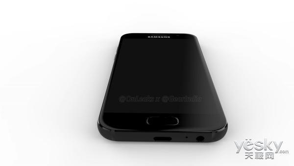 三星 Galaxy A3 (2017)宣图曝出:酷似S7