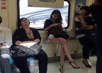 地铁上的意外收获
