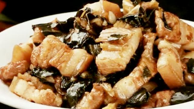 苔干菜烧肉怎么做