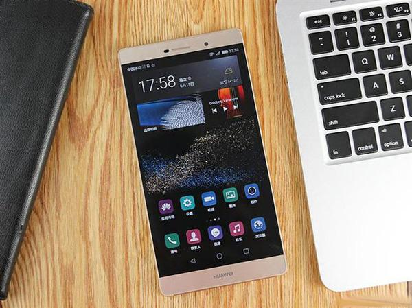 华为公司P8Max:全世界第一款4色1300万清晰度RGBW传感技术手机上