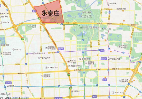 北京永泰庄附近有什么好吃的吗