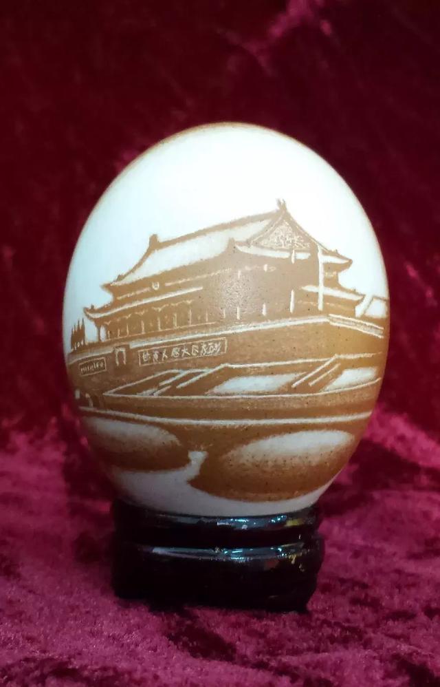 蛋雕摆件欣赏