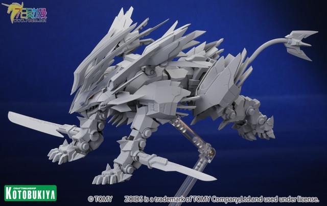 寿屋成品:索斯机械兽ZA no.2 疾风长牙狮