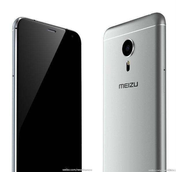 金属材料外壳 5.7寸大屏幕:魅族手机PRO 5上手图赏