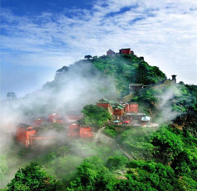 武当山是不是世界遗产