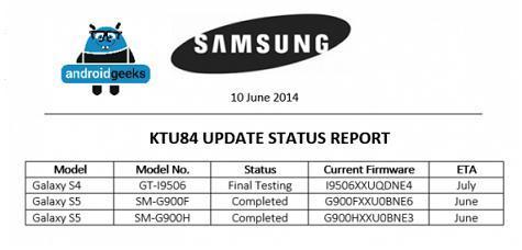 三星S5将于6月底升级至Android 4.4.3