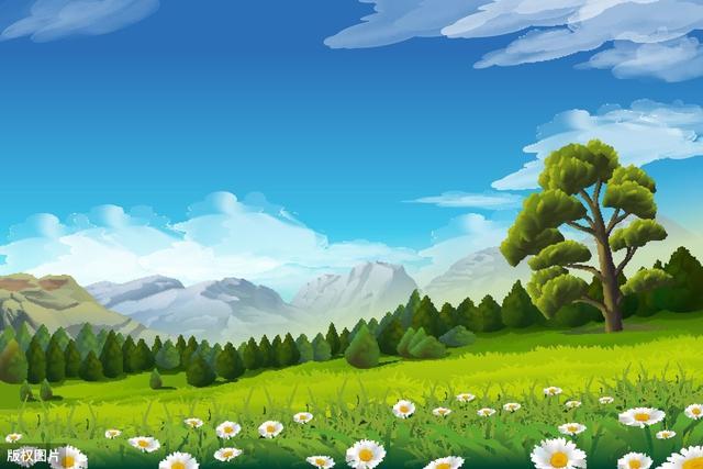 家乡的春天美景作文600字