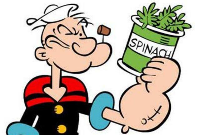 为什么大力水手吃菠菜呀