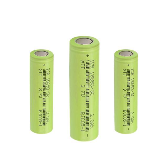 2000mAh动力倍率型18650电池-鑫通泰