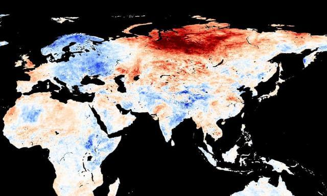 北极圈着火!气温直逼38度,科学家恐冰川融化远古病毒复活