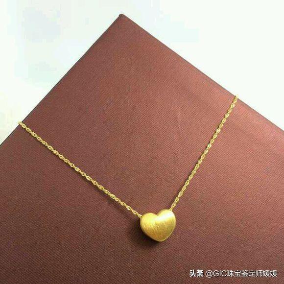黄金项链有哪些好看的款式啊?