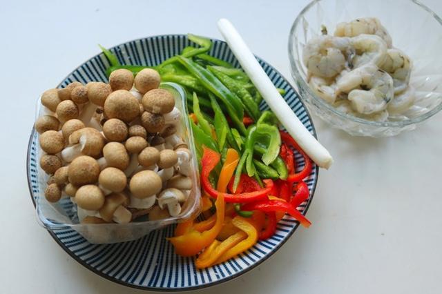 菇怎么做好吃,炒虾菇的家常做法