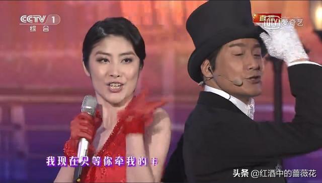 张曼玉唯一一次春晚之旅,和梁朝伟合唱《花样年华》太迷人