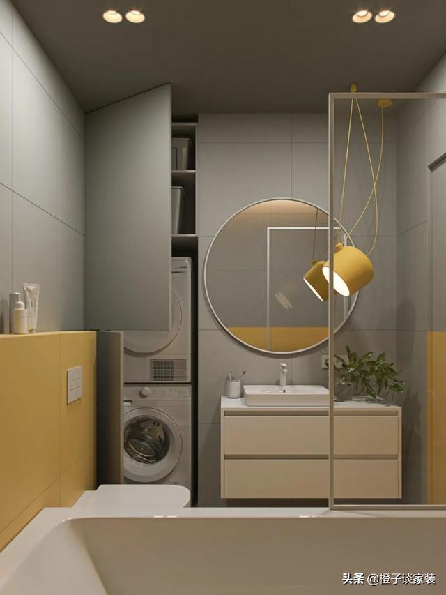 13款卫生间装修效果图,款款高颜值、有品位、还实用,堪称完美