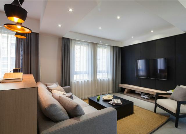 晒晒同事的102平新房,客厅这样设计的,我还真是第一次见